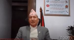 Dr Khatiwada Finance Minister